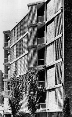 José Antonio Coderch - Wohnhaus Carrer de J. S. Bach, Barcelona  1957
