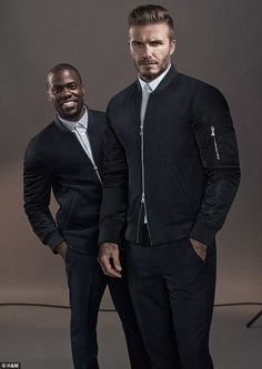 The footballer has also called on actor and comedian Kevin Hart to help promote his new ga...