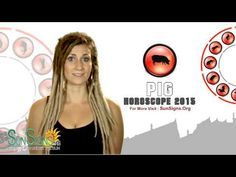 Pig 2015 Horoscope Predictions - YouTube