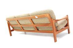 70s teak sofa Denmark