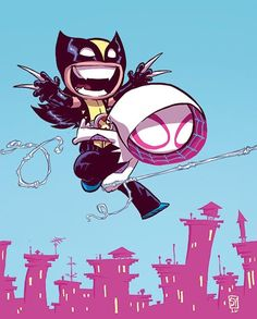 @skottieyoung s Wolverine Annual  #marvelcomics #Comics #marvel #comicbooks #avengers #captainamericacivilwar #xmen #xmenapocalypse  #captainamerica #ironman #thor #hulk #hawkeye #blackwidow #spiderman #vision #scarletwitch #civilwar #spiderman #infinitygauntlet #blackpanther #guardiansofthegalaxy #deadpool #wolverine #daredevil #drstrange #infinitywar #thanos #magneto #cyclops http://ift.tt/2b1HH9O