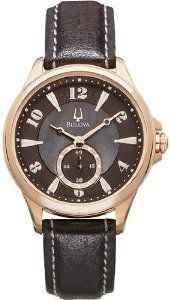 Shop for Bulova Womans Adventurer Rose Gold Tone Watch with Leather Strap. Get free delivery On EVERYTHING* Overstock - Your Online Watches Store! Rose Watch, Brand Name Watches, Bulova Watches, Online Watch Store, Watch Sale, Quartz Watch, Jewelry Watches, Rose Gold, Adventurer