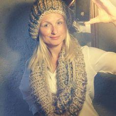 OOTD #fashion #selfknitted #diy #scarf #bootsmannundtornado