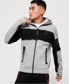 Shop Superdry Mens Gym Tech Stretch Block Zip Hoodie in Black. Buy now with free delivery from the Official Superdry Store. Zip Hoodie, Hoodie Jacket, Superdry Mens, American Eagle Men, Under Armour Men, Boys Shirts, Black Hoodie, Adidas Men, Gym Men