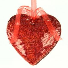 "6""D HEART RED"