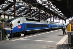 TGV!!!   At Gare de Leon - heading to Aix en Provence
