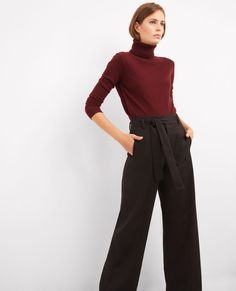 This season s statement trousers with wide legs and a high waist for style. dd4003eee95