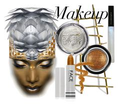 """""""LIGHT MAKEUP"""" by coppin-s ❤ liked on Polyvore featuring beauty, Illamasqua, Armani Beauty, Max Factor, Crystorama and FACE Stockholm"""