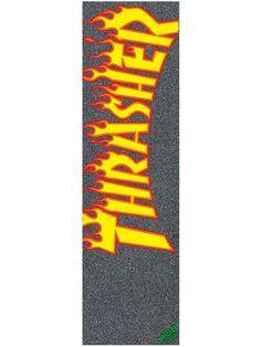 "Mob Grip Thrasher Flame Logo 9"" griptape"