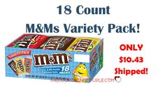 HOT BUY!! Get an 18 count M&Ms Variety Pack for only $10.43 shipped! Stock up on treats! About 58¢ per bag - less than half the price at the grocery store!  Click the link below to get all of the details ► http://www.thecouponingcouple.com/mms-variety-pack-18-count-for-10-43-shipped/ #Coupons #Couponing #CouponCommunity  Visit us at http://www.thecouponingcouple.com for more great posts!