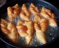 Rezept Krebli (Russische Küche) von KleNata - Rezept der Kategorie Backen herzhaft