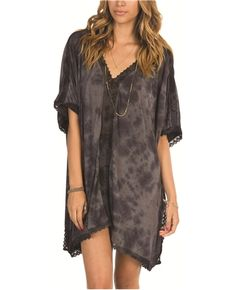 Billabong  charcoal  Free for all dress