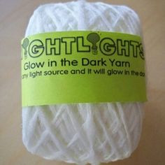 FUN!!!!! - Nightlight Glow in the Dark Yarn! @ Claudia OMG!!!!!!!!!!!!! are u jumping up and down with me right now????