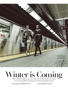 winter is coming: stephanie rad and zoe colivas by davian lain for l'officiel singapore september 2016 | visual optimism; fashion editorials, shows, campaigns & more!