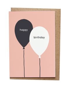 Set of 6 Happy Birthday Cards by on Etsy, Handmade Birthday Cards, Happy Birthday Cards, Card Making Inspiration, Making Ideas, Ballon Party, Personalized Stationery, Creative Cards, Kids Cards, Cute Cards