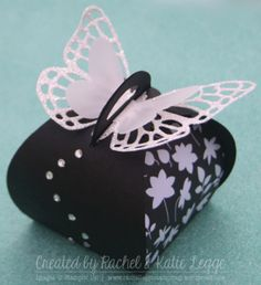 Stampin' Up! Butterfly Curvy Keepsake Box - Convention 2015 Swap - Created by Rachel and Katie Legge rachelleggestampinup.wordpress.com
