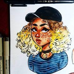 Fabulous Drawing On Creativity Ideas. Captivating Drawing On Creativity Ideas. Cartoon Drawing Tutorial, Cartoon Girl Drawing, Sketchbook Drawings, Drawing Sketches, Realistic Drawings, Cute Drawings, Character Art, Character Design, Cartoon Drawings Of People