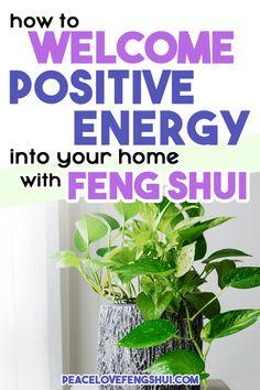 Feng Shui House, Feng Shui Bedroom, New Energy, Good Energy, Feng Shui Guide, Feng Shui Basics, How To Feng Shui Your Home, Feng Shui New Home, Consejos Feng Shui