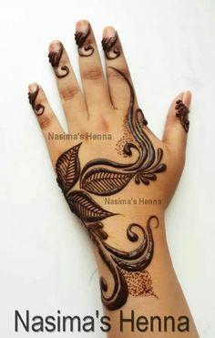 Emirati mehndi Mehndi Designs For Beginners, Simple Mehndi Designs, Mehandi Designs, Henna Mehndi, Henna Art, Mehendi, Easy Mehndi, How To Make Henna, Finger Henna