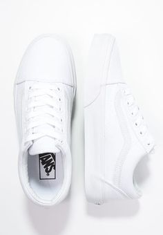28dabd743d OLD SKOOL - Obuwie deskorolkowe - true white   Zalando.pl 🛒 · Vans Shoes  ...
