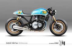 Visualizando Motocicletas feitas sob encomenda com Holographic Hammer - Moto Rivista