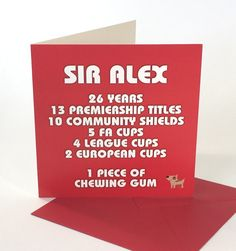 There's only 1 Sir Alex
