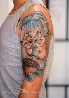 ice age #tattoo #tattoos