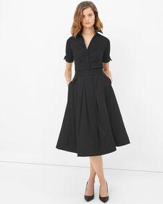 Taffeta Midi Skirt - White House | Black Market