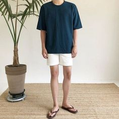 All Fashion, Korean Fashion, Mens Fashion, Fashion Outfits, Fashion Styles, Ulzzang Fashion Summer, Casual Outfits, Men Casual, Mens Trends