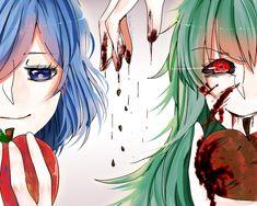 Touka e Eto <3 - MDS finalmente uma Fan Art dessas duas   Tokyo Ghoul