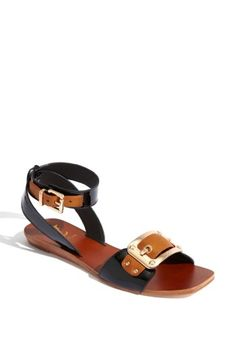 Bridget Sandals Of Jamaica Cutaway Thong In Red I
