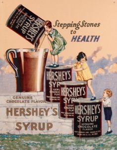 Hershey's Syrup Tin Sign at AllPosters.com