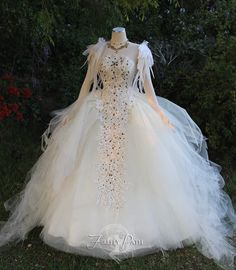 Swan Gown from Firefly Path - Inspired by Swan Lake