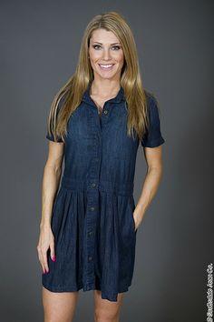 Current Elliott School Girl Dress $218.00 #sjc #scottsdalejeanco #springfashion #currentelliott #denimdress