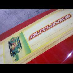 Prancha de Stand Up Paddle personalizada e feito sob medida para Naty Franco - SP