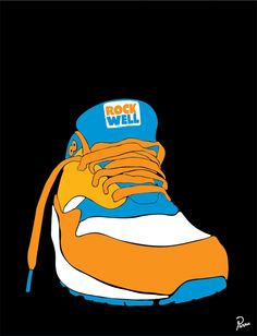 Air Max 2 illustration by Parra