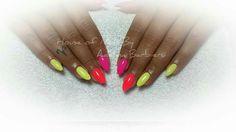 Neon nails design