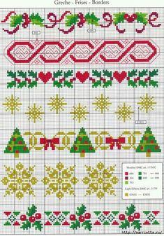 Zähldecke 90x90 cm mit Zählrand Kreuzstich Winterdorf Weihnachten Sticken