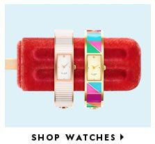 Cool watches  love the frozen popsicle with colourful watches combination in the ad