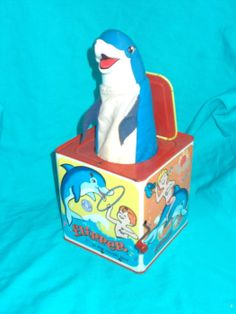1966 Flipper Jack in the Box Mattel Puppet Toys, Puppets, Pop Goes The Weasel, Jack In The Box, Im Happy, Toy Boxes, Nursery Rhymes, Childhood Memories, Etsy Vintage