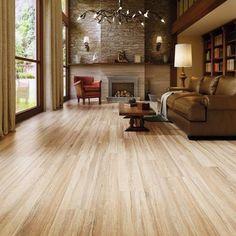 Wood Tile Navarro Beige Wood Plank Porcelain Tile - x - 100294875 Ceramic Wood Tile Floor, Wood Look Tile Floor, Wood Plank Tile, Wood Tile Floors, Bathroom Floor Tiles, Plank Flooring, Wood Planks, Laminate Flooring, Flooring Ideas
