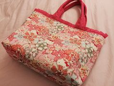 Medium tote bag  Liberty of London hello kitty tote  by sprklle47, $45.00