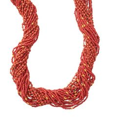 Loft - Women's Accessories: Fashion Accessories, Shoes, Jewelry, Bags: LOFT - Long Multi Strand Seed Bead Necklace