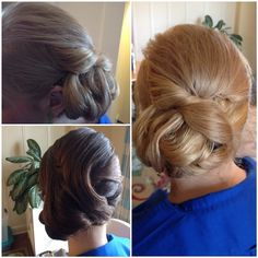 Updos done by Trish