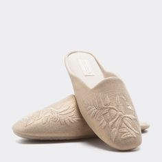 Image 2 of the product EMBROIDERED SLIPPERS