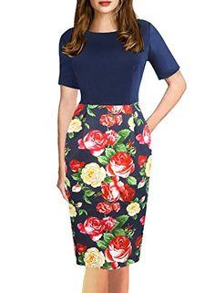 Fantaist Women's Scoop Neck Floral Print Pocket Formal Of... https://smile.amazon.com/dp/B06Y41ZXFS/ref=cm_sw_r_pi_dp_x_iYpAzbNBK8TTA