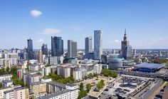 Warsaw Compass | The highest buildings in Warsaw on 360° aerial panoramas, virtual tours around the city skyline.