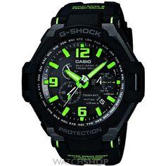 Mens Casio Premium G-Shock Gravity Defier Alarm Chronograph Radio Controlled Watch GW-4000-1A3ER
