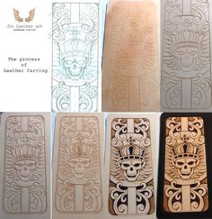 Leather carving art http://stores.ebay.com/Jin-leatherart