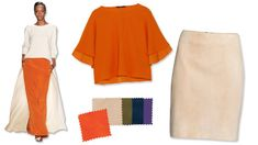 Orange You Glad? 4 Shades to Wear With the Punchy Color of Mandarin Orange Sandals, Orange You Glad, Colourful Outfits, Fashion Over 50, Soft Colors, Color Combinations, Color Schemes, Green And Purple, Dress Me Up
